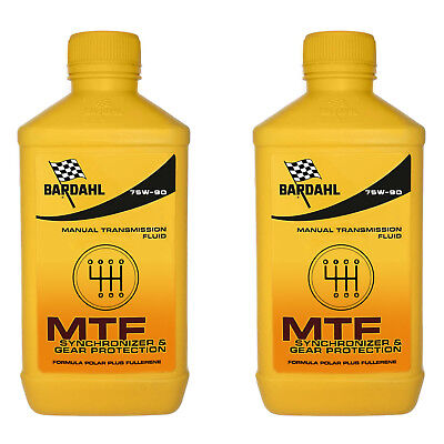 2Lt Aceite Coche Bardahl Bardhal Mtf 75W90 GL4 Transmisiones Manuales