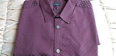Paul Smith shirt size small slim fit