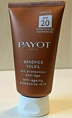 Payot Benefice Soleil Anti Ageing Protective Cream SPF 30 - 150ml NWoB