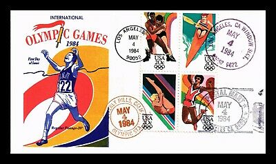 Dr Jim Stamps Us Olympic Games Combo First Day Cachet Cover