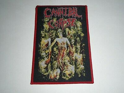 Cannibal Corpse The Bleeding Woven Patch