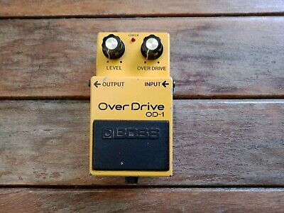 Boss OD-1, Overdrive, Made In Japan Vintage Guitar Effect Peda