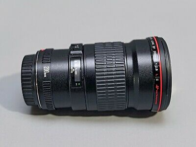 Canon EF 200mm f2.8L II USM Lens - Mint with Original Canon Hood and Lens Caps