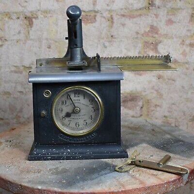 Antique Time Recorder Clocking In Machine Blick London