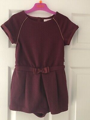 Girls Ted Baker Playsuit Age 5-6