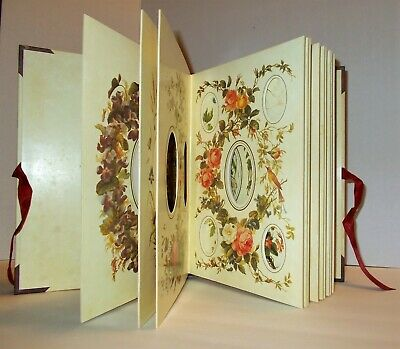 The Victorian Photograph Album - Beautiful Floral Bird & Butterfly Design - 1994