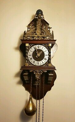 Beautiful Vintage Dutch Wall Clock