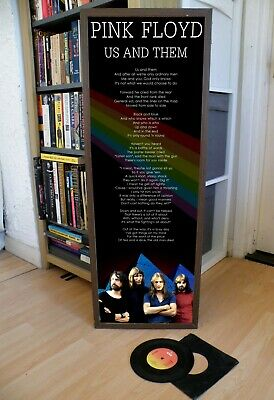 Pink Floyd Us And Them Promo Poster Lyric Sheet,Pop,Rock,Jazz,Soul,Prog,Rap