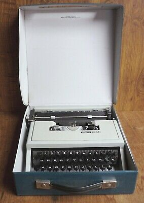 Vintage Olivetti Dora Typewriter & Carry Case – Portable Working Order