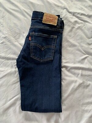 Boys 501 Levis Skinny Jeans Age 14