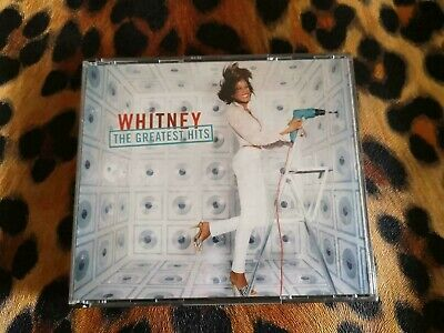 *USED* - Whitney Houston - The Greatest Hits CD - 2 Discs Cool Down & Throw Down