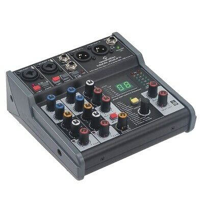 Soundsation MIOMIX 202UFX Mixer Passivo Multieffetto Digitale/Interfaccia I/O