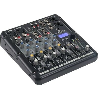 Soundsation YOUMIX-202 MEDIA Mixer Passivo 6 Canali Lettore MP3/BT/Multieffetto
