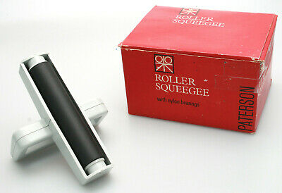 Paterson Roller Squeegee for Darkroom / Photographic Prints - Near Mint