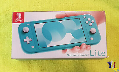 Console Nintendo Switch Lite Turquoise - Console Seule