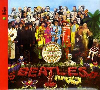 Sgt.Pepper's Lonely Hearts Club Band-Stereo Remast - Beatles Compact Disc Free S