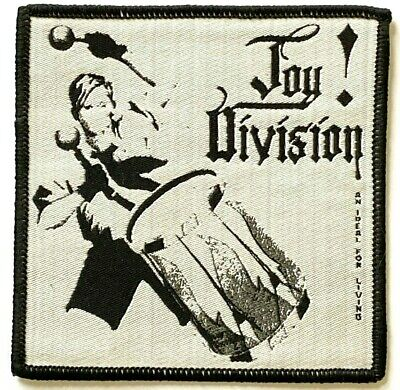JOY DIVISION - An Ideal for Living - Woven Patch Sew On Rare aufnäher écusson