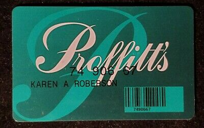 Proffitt's charge card ♡Free Shipping♡cc1041♡