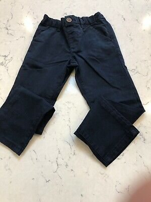 Boys Navy Trousers From Next Size 4-5 Years