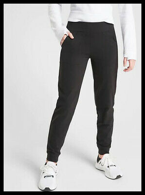 NWT Athleta Girl Powervita Jogger Size Large /12 color Black