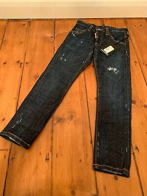Dsquared Boys Blue Distressed Cool Guy Jeans 6years