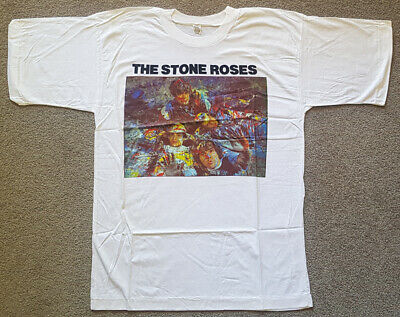 Genuine Vintage band t-shirt - The Stone Roses - c.1989