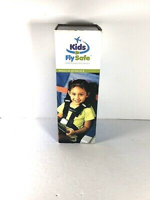 Brand New CARES Kids Fly Safe Airplane Aviation Safety Harness Red