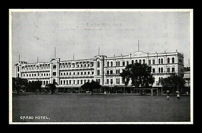Dr Jim Stamps Grand Hotel View Topical Postcard