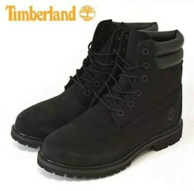 TIMBERLAND 27332 WATERVILLE Double Black 6 Inch Women Boots