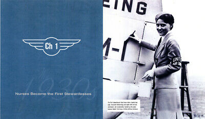Signed 'Come Fly With Us!' 10th Anniversary Edition. Stewardess/flight attendant