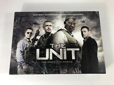 The Unit: The Complete Giftset (DVD, 2009, 19-Disc Set) LIKE NEW