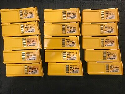 Lot of 15 Defibtech DBP-1400 DBP-2800 Battery Packs