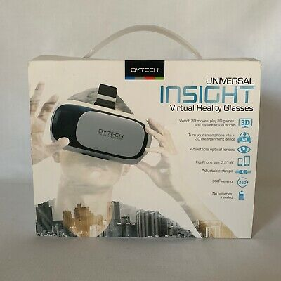 Bytech Universal Insight Virtual Reality Glasses For Smartphones 3.5-6.0""