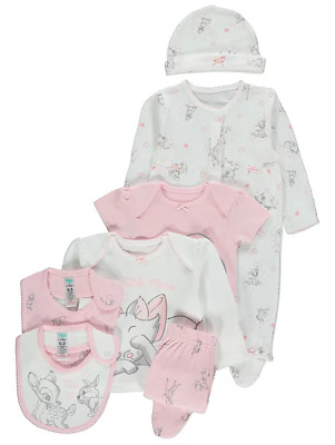 Disney Baby Girls Bambi Marie Dalmatian 7 Piece Starter Set New Baby Newborn NEW
