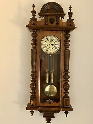 Magnificent 19th Century Vienna Regulator Wall Clock