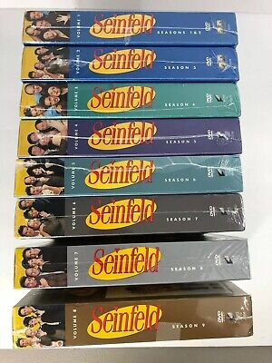 NEW - Seinfeld - Seasons 1 -9 DVDs -The Complete Series