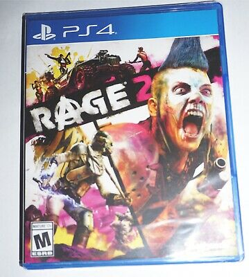 Rage 2 (Sony Playstation 4 ps4) NEW Factory Sealed