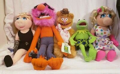 Disney Henson Muppets Collection Lot of 5 Plush