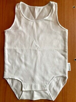 New without tags: Bonds newborn baby size underwear rompers white unisex