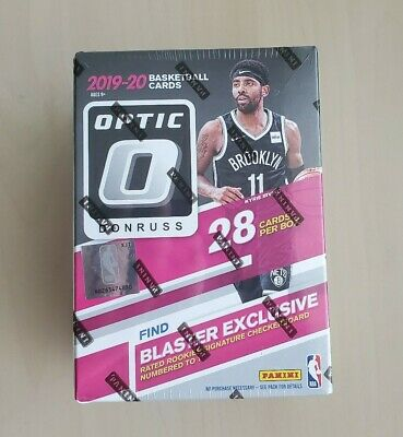 2019-20 Panini Donruss Optic Factory Sealed NBA Basketball Blaster Box!