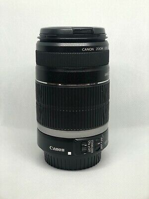 Canon EF-S 55-250mm F/4-5.6 IS Telephoto Zoom Lens - Used