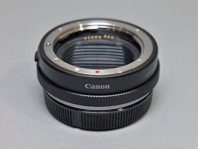 Canon Control Ring Mount Adapter EF-EOS R - Mint in Box - Original Caps and Case