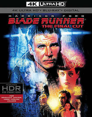 Blade Runner - The Final Cut 4K UHD with Blu-ray and Digital Code