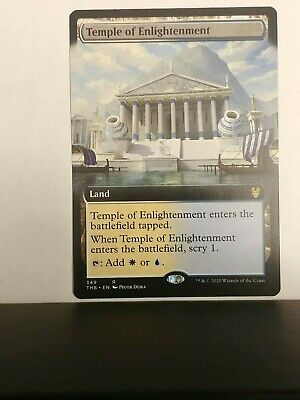 TEMPLE OF ENLIGHTENMENT (BORDERLESS), Theros: Beyond Death NM MTG x 1