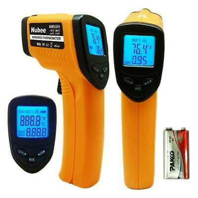 Nubee 8380h Noncontact Infrared Thermometer Temperature Gun With Laser Sight