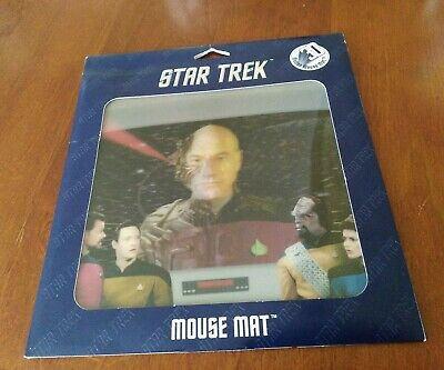 Star Trek Next Generation 3D Motion Mouse Mat Picard / Locutus. New and Sealed.