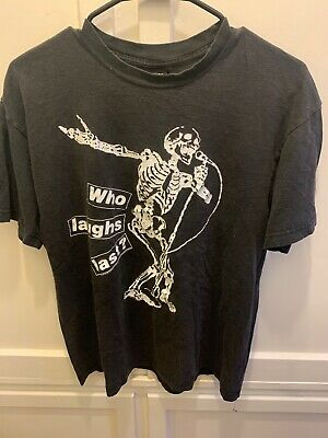 Vintage 1997  Tour Rage Against The Machine T-Shirt Black M Who Laughs Last?
