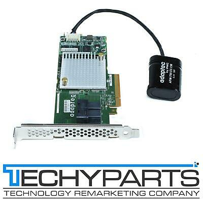 Adaptec 2252700-R 16-Port Internal Connectors 256MB Cache PCI Express X8 SATA//SAS RAID Controller