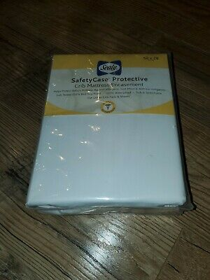 Sealy SafetyCase Protective Crib Mattress Encasement waterproof