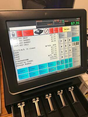 POS TouchScreen register all-in-one fully operational